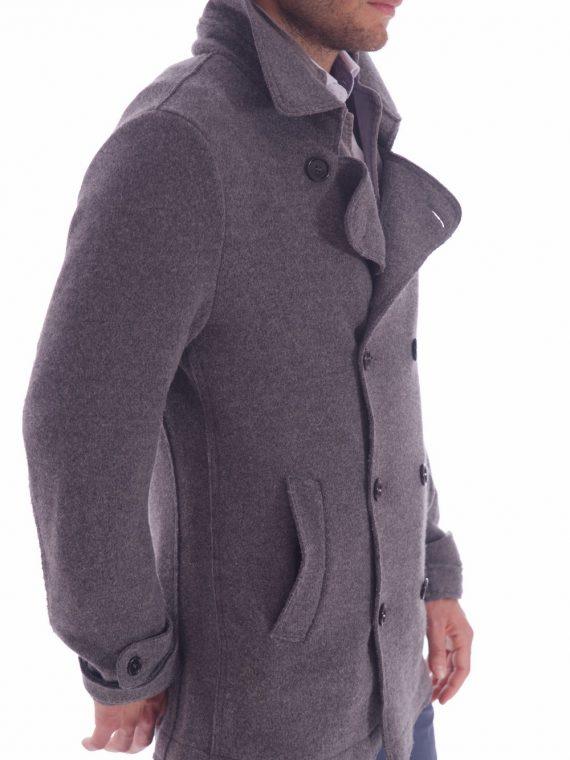 giaccone grigio doppio petto lana cotta (4)