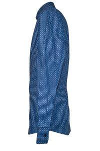 Camicia Uomo Blu Elettrico Punto Cravatta 7