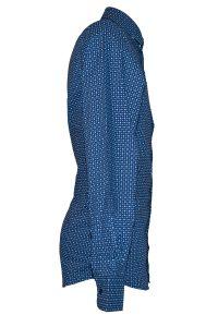 Camicia Uomo Blu Elettrico Punto Cravatta 5