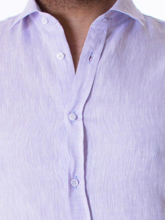 Camicia Uomo Cardo in Lino tela Twill