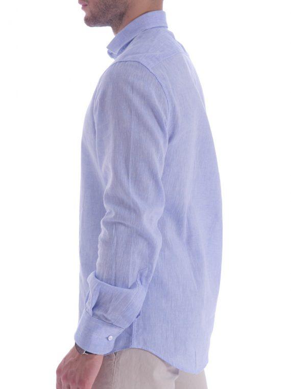16d20217bacadd Camicia azzurra artigianale made in italy (2). Carrello veloce Scegli