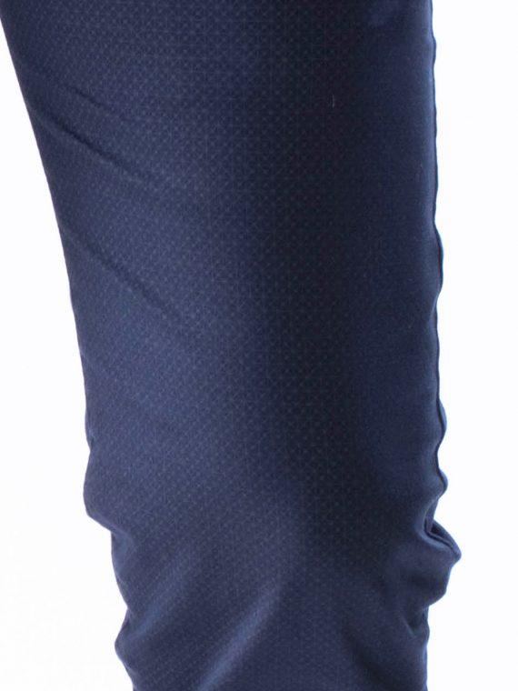 Pantalone Lungo Uomo leggero Blu Scuro Slim Fit
