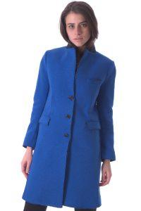 cappotto donna lungo bllu taglio vivo (1)