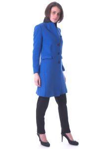 cappotto donna lungo bllu taglio vivo (2)