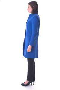 cappotto donna lungo bllu taglio vivo (6)