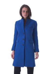 cappotto donna lungo bllu taglio vivo (9)