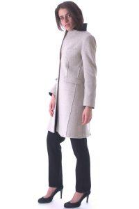 cappotto sporabito spolverino beige artigianale taglio vivo (3)