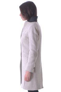 cappotto sporabito spolverino beige artigianale taglio vivo (4)