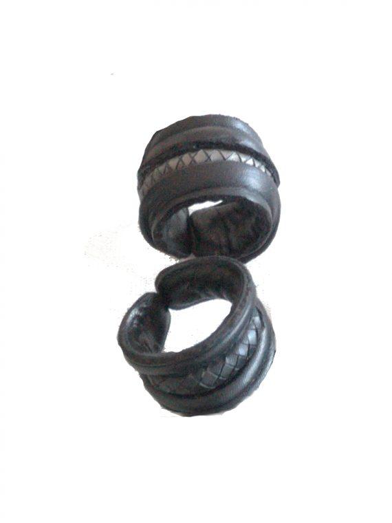 anello treccia uomo